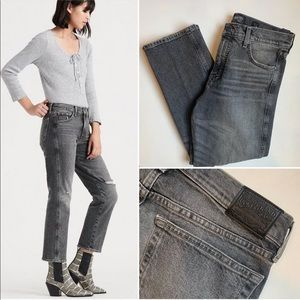 Lucky Brand Authentic Straight Crop Jeans